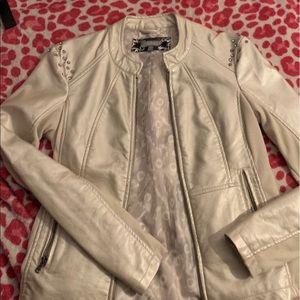 Daytrip white metallic jacket